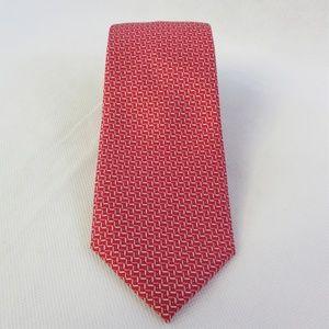 Michael Kors Mens' Slim Design Geometric Print Tie